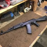 Nice 74 on a Recreator receiver. of course coated with Russian Paint. I guess…