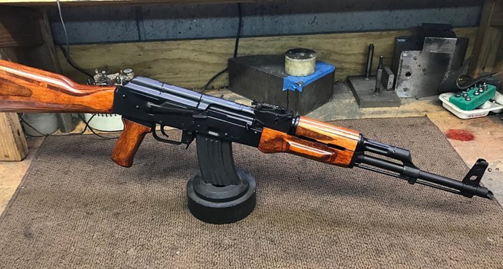Nice Russian tribute AKM. It is a Romy G kit on a Childers premium…