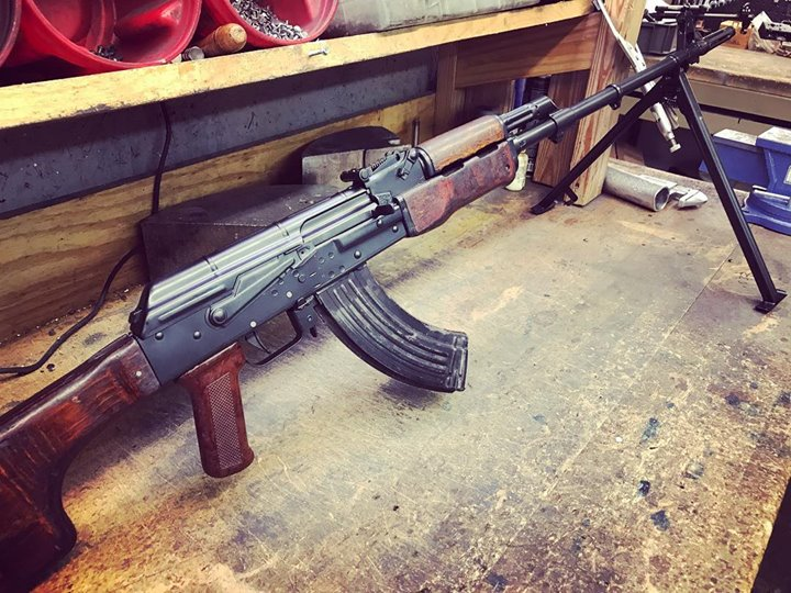 Did a little Romy built on a Childers receiver with a US barrel and…