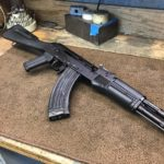 A Saiga we updated welded up all the holes. The owner decided to leave…
