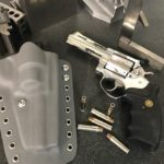 One of my custom Cougers. Colt/Ruger combos. With a Custom 12/21 Designs holster. If…