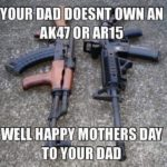 Bwahahahahah !!!! But Happy Mother's Day to all the real mothers out there. #pewpew…