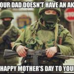 Happy Mother's Day to all the mothers. Out there and a couple Dads