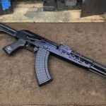 A hodgepodge of parts to make a modernized AKM. AMD kit but the gas…