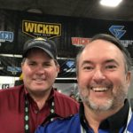 My old buddy Mike Friend from the Firingline in OK. We Old Skoo AK…