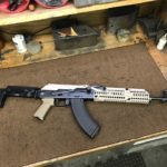 A cool rifle leaving today. We did the left side folding Mod and fitted…