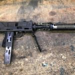A cool piece of machinegun history leaving the shop today. Cutaway M10 and suppressor…