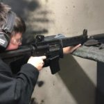 "Christopher running his "" Wolf piston upper pistol with a shockwave blade and M4-2000…"