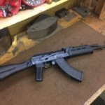 A unique Saiga conversion we did last week. A little traditional … and a…