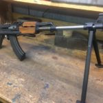 Did an RPK UF barrel install. Customer riveted the receiver and is going to…