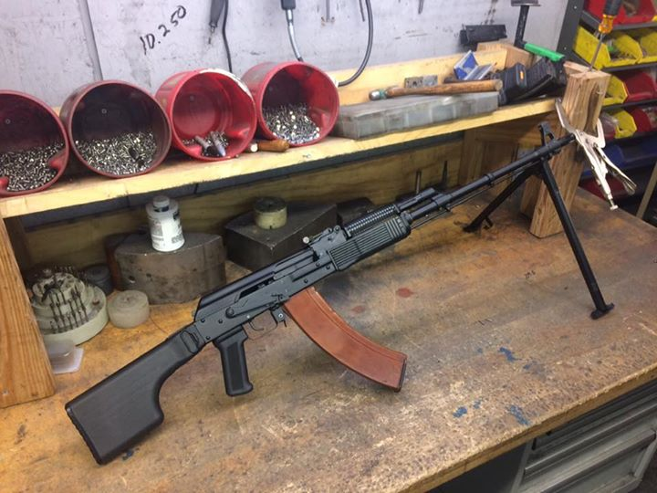 A Vepr to full length conversion. Shoots sweet!!'
