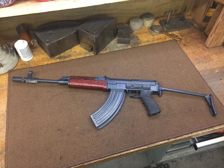 Just finished up a VZ58 project for a good friend