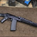 Saiga we converted to a poly folder. Welded up all the holes plus the…