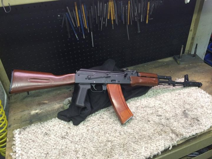 We have another nice 74 for sale. Built on a WW receiver. Chrome lined…