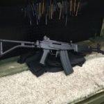 Galil test fired, coated and waiting on UPS. I'm really digging the South African…