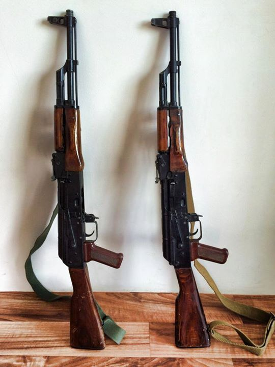 Here a couple pics of a true Russian AKM. These were sent to me…