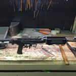Assembled the barreled action before I found the issue with the front sight. It…