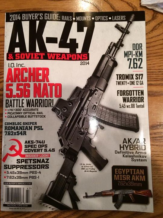 Got some love in the AK-47 & Soviet Weapons magazine by Harris Publications. A…